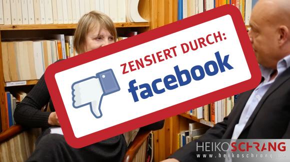 Skandal: Facebook löscht Interview mit Vera Lengsfeld