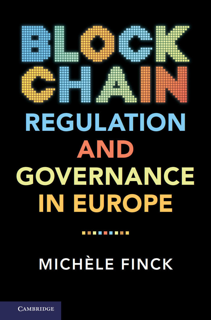 Blockchain Regulation and Governance in Europe (Foto: Cambridge University Press)