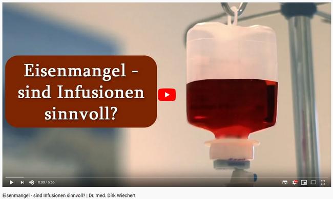 Sind  Eiseninfusionen sinnvoll?