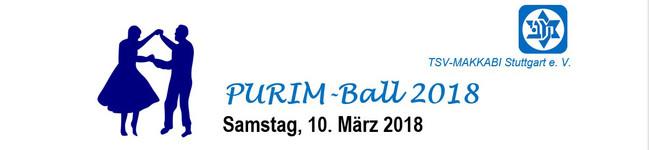 Purim-Ball 2018 des TSV Makkabi Stuttgart e.V.