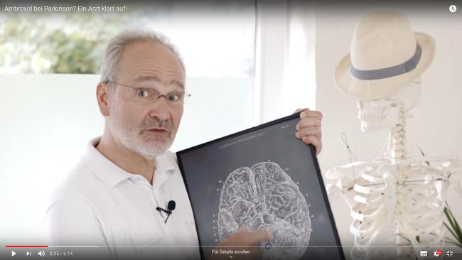 Ambroxol beim M. Parkinson