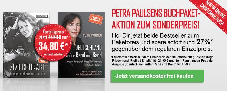 Petra Paulsen Sonderaktion: Zivilcourage und Deutschland außer Rand und Band