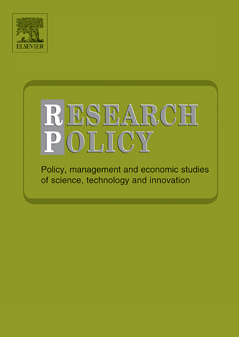 Replication Studies in Economics, in: Research Policy (Bild: ScienceDirect/Elsevier)