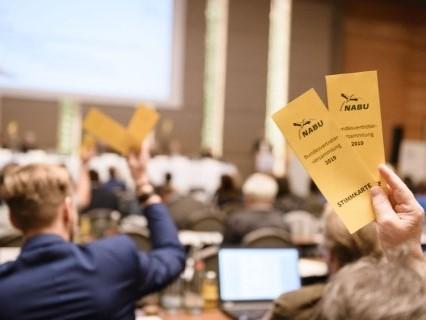 Bundesvertreterversammlung in Berlin. Foto: NABU/Guido Rottmann