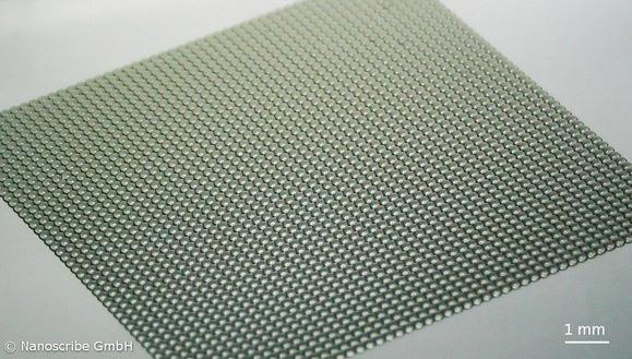Nanoscribe_Polymer_Master_Microlens_Array