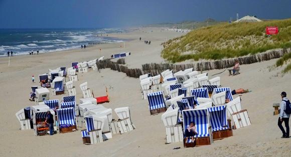 Kampens Strand in der vergangenen Woche