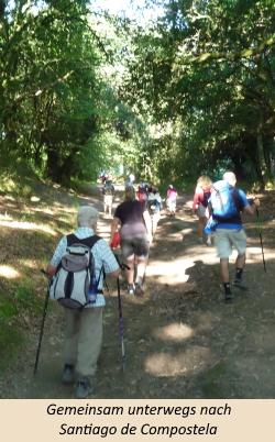 Gemeinsam unterwegs nach Santiago de Compostela
