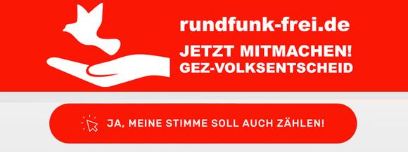 GEZ-Volksentscheid - rundfunk-frei