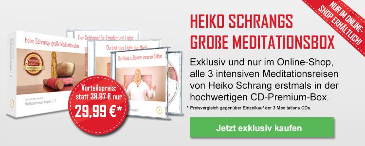 Heiko Schrangs große Meditationsbox
