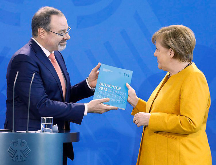 Commission of Experts for Research and Innovation (EFI) presents Annual Report 2019 (Photo: German Federal Government/Eckel)