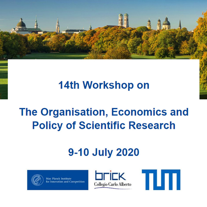 14th Workshop on  The Organisation, Economics and Policy of Scientific Research