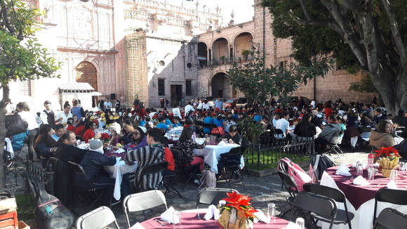 Lunch at the Cathedral