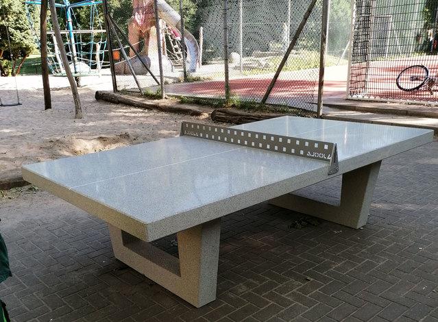 Tischtennisplatte am Wildenbruchplatz