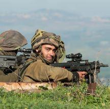 Soldaten an der Nordgrenze Israels, Foto IDF