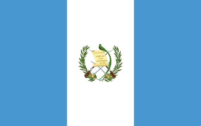 Fahne Guatemalas