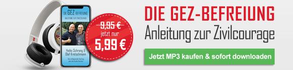 Die GEZ-Befreiung - Der Vortrag als MP3