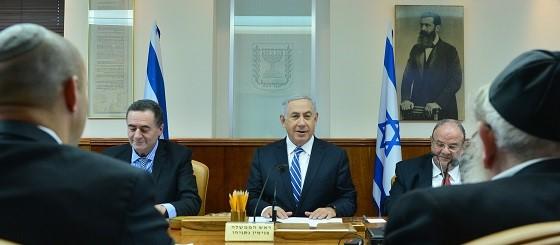 Israelische Regierung, Foto: GPO Israel
