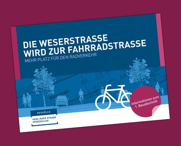 Flyer Weserstraße
