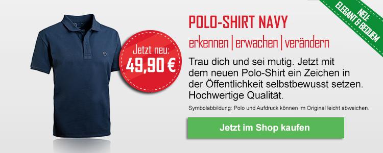 Polo-Shirt navy