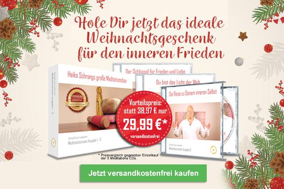 3-CD-Set: Heiko Schrangs große Meditationsbox