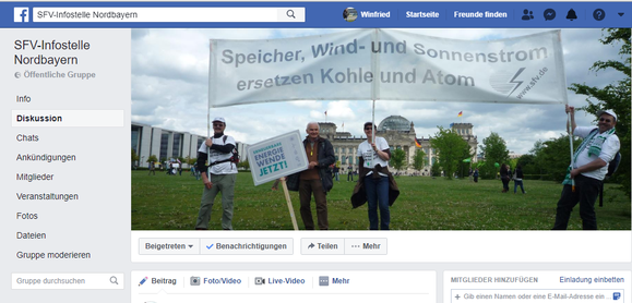 Besuchen Sie uns in Facebook