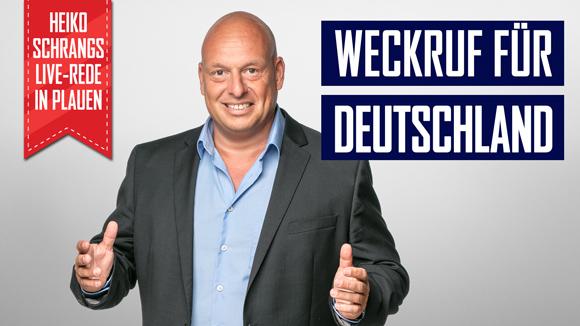 Weckruf für Deutschland-Heiko Schrangs Brandrede in Sachsen